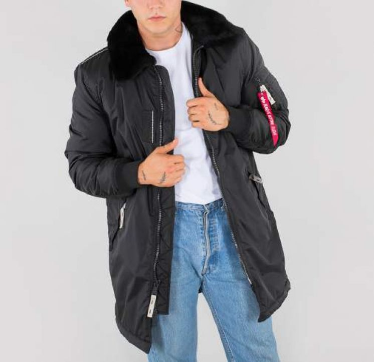 Opruiming van de Alpha industries en vintage-industries parka,s